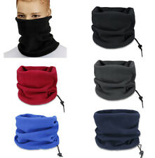 Mens Womens Neck Warmer Snood Scarf Hat Thermal Ski Wear Snowboard Running Wrap