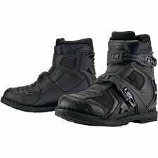 Icon Field Armor 2 Boot Sport Riding Leather/Textile Solid Over Ankle