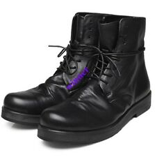 Mens High Top Leather Military Boots Army Boots Tactical Lace Up Combat Shoes Sz