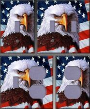 All American Eagle Wall Decor Light Switch Plate Cover