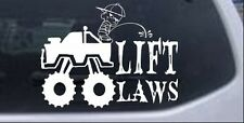 Pee On Lift Laws Car or Truck Window Laptop Decal Sticker 4X4 Off Road 6X7.8