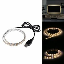 Waterproof Flexible USB LED Strip Light 2835 Warm White SMD  TV Background Light