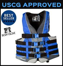 Mens PFD Vest Body Glove Torque 2 Personal Flotation Device Coast Guard Approved