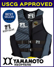 Mens PFD Vest Body Glove Phantom Wake Board Vest Ski - Coast Guard Approved