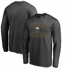 Buffalo Sabres Victory Arch Big & Tall Long Sleeve T-Shirt - Heather Gray - NHL