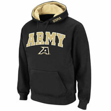 Army Black Knights Stadium Athletic Arch & Logo Pullover Hoodie - Black - NCAA
