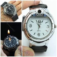 Men Military Refillable Lighter Butane Gas Cigarette Cigar Lighters Wristwatches