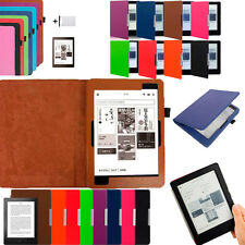Magnetic Auto Sleep Leather Colorful Cover Case For KOBO H2O eReader +Touch Pen