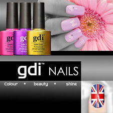 GDI NAILS UK SOAK OFF GEL NAIL POLISH AVAILABLE IN 50 X COLOUR FREE POSTAGE UK