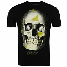 Iron Fist Mens T Shirt Cotton Printed Skull Design Short Sleeve Crew Neck Tee