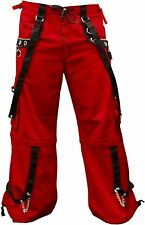 TRIPP BONDAGE CHAINS GOTHIC ROCK SHORTS RAVE GOTH TECHNO BAGGY PANTS AF7725M