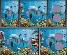 Tropical Underwater Ocean Wall Decor Light Switch Plate Cover