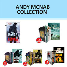 Andy McNab Collection Set Nick Stone Thriller Boy Soldier Gift wrapped NEW