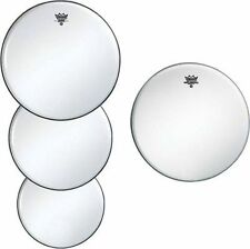 Remo Coated Ambassador Drum Head Pack 12/13/14/14 Uncoated Snare