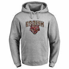 Brown Bears Classic Primary Logo Pullover Hoodie - Ash - NCAA