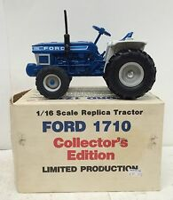 Ford 1710 Utility Tractor Collector Edition DieCast NIB ERTL 1/16 Hard to Find!
