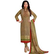 Designer PartyWear Bollywood Georgette Embroidered Salwar Kameez Suit-Shabd-2002