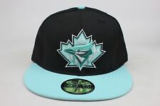 Toronto Blue Jays Black / Tiffany Blue Lid / White New Era 59Fifty Fitted Hat