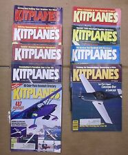 Kitplanes Magazine 1993 Nine Issues