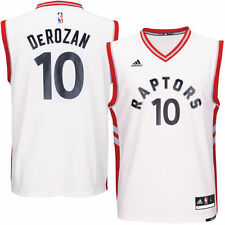 DeMar DeRozan Toronto Raptors adidas Home Replica Jersey - White - NBA