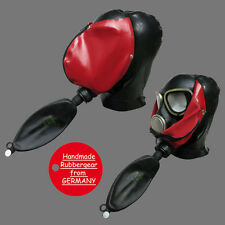 Latex Rubber Studio Gum Gas Mask - Latexmaske Gasmaske - Typ: p13
