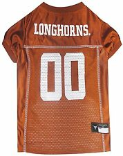 Texas Longhorns NCAA Pet Dog Sports Jersey (sizes) NEW