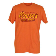 Reeses Peanut Butter Cup Novelty Tshirt Tee Hersheys Brand Milk Chocolate Shirt