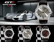 Men's/Youths/Teenagers GT Grand Touring Chronograph Sports Watch - Leather Strap