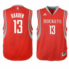 James Harden Houston Rockets Youth Swingman Basketball Jersey - Red - NBA