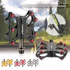 Bicycle Bike Road Bike Pedals Sealed Bearing Spindle Flat Platform Pedals Z5G9