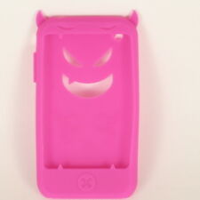 Hot Pink Devil Silicone Skin Case for iPhone 3G 3GS