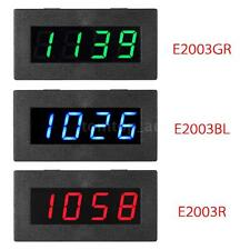 4 LED Digital Frequency Tachometer Car Motor Speed Meter 5-9999R/M 3 Colors U7D8
