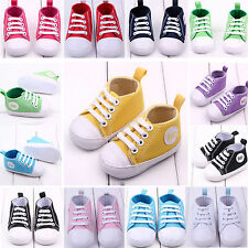 Kid Infant Toddler Baby Boy Girl Soft Sole Crib Shoes Sneaker Newborn Prewalker