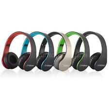 4 in1 Foldable Wireless Bluetooth Stereo Headset Headphone Earphone FM MP3 w/Mic