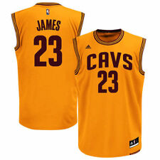 LeBron James Cleveland Cavaliers adidas Alternate Replica Jersey - Gold - NBA
