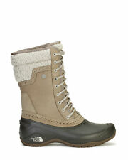 The North Face Womens Shellista II Mid Waterproof Boots Brown/Grey