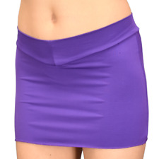 V-Front Purple Mini Skirt Crossdresser XS-3X