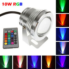 Waterproof 10W RGB LED Outdoor 16 Color Changing Flood Spot light Garden Lamp
