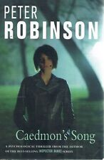 Caedmon's Song by Robinson Peter - Book - Paperback - Fiction - Thrillers