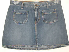 Abercrombie & Fitch denim blue jean mini skirt, size 4