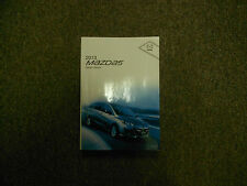 2013 Mazda 5 Mazda5 Mazda-5 Owners Operators Owner Manual FACTORY OEM BOOK