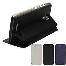 For Bluboo Mini Cell Phone Luxury PU Leather Flip Stand Built-in Case Cover