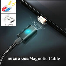 Magnetic Adapter + Micro USB 2.4A Fast Charging Data Sync Cable