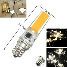 1/5/10pcs COB 2508 LEDs E12 7W 480lm Led Dimmable bulb 110/220V White/Warm