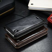Luxury Leather Flip Wallet Card Stand Magnetic Case For iPhone 6 6S Plus Case