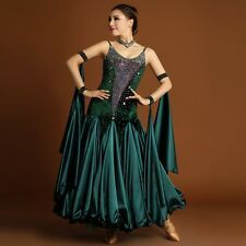 Luxurious Adult Maxi Modern Dance Dress Waltz Tango Fox Trot Quickstep Ballroom
