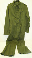 Genuine Royal Air Force Olive Green Coveralls/Overalls Hook + Loop Fastenings