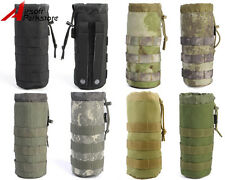 7 Colors Airsoft Tactical Molle 1000D Water Bottle Pouch Bag with Mesh Bottom