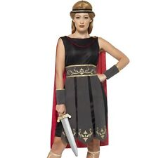 Ladies Roman Warrior Gladiator Girl Fancy Dress Costume Outfit by Smiffys New