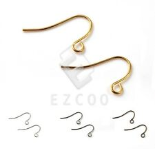 140pcs Iron Ear Hook Wires Crafts Earring Finding 21x13mm Wholesale DIY